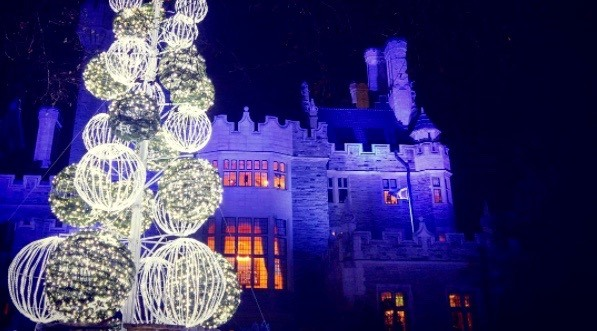 14 dazzling photos from Casa Loma's Magical Winterland Nights