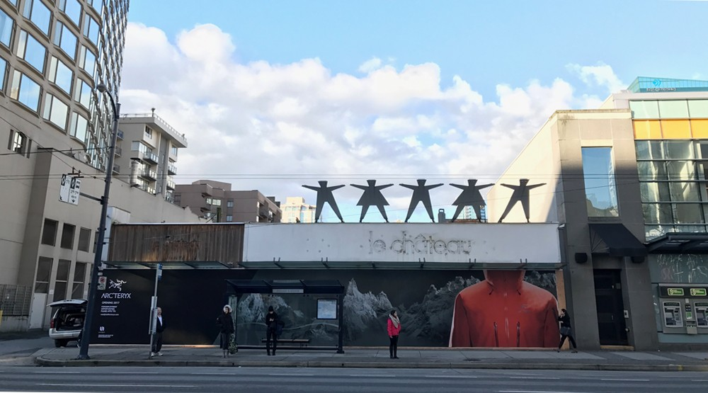 Arcteryx downtown vancouver opening