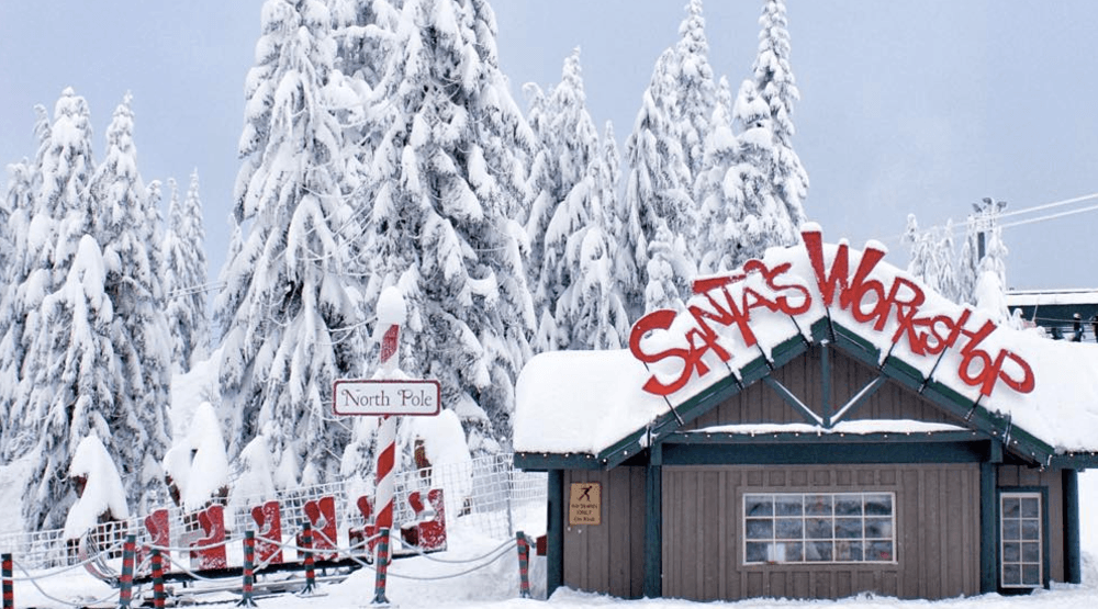 21 Photos Of The Grouse Mountains Magical Peak Christmas