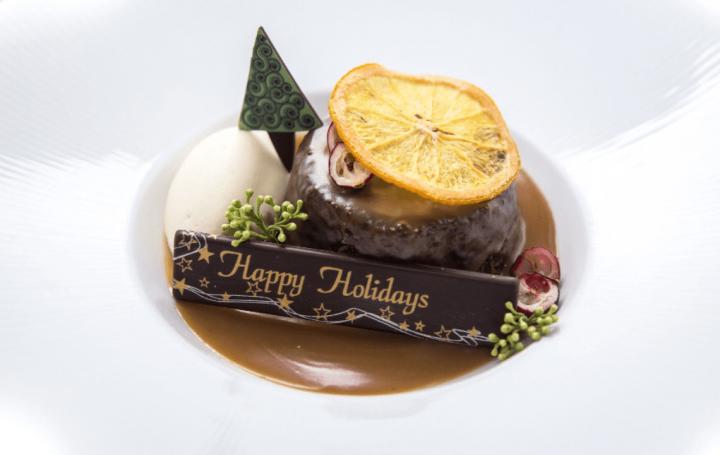 Christmas Sticky Toffee Pudding (Photo courtesy of Market)