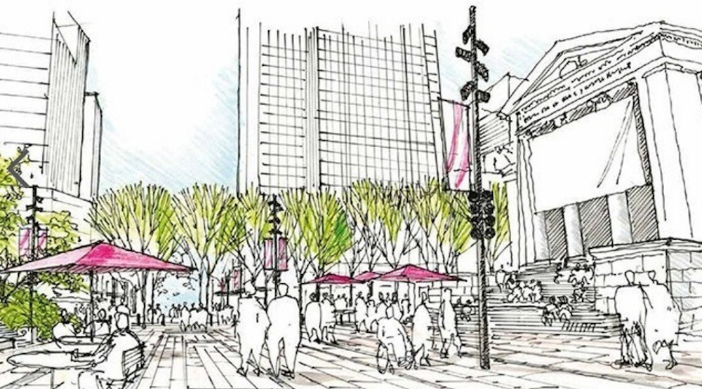 City council to consider $5.4-million budget for Robson Plaza's permanent design
