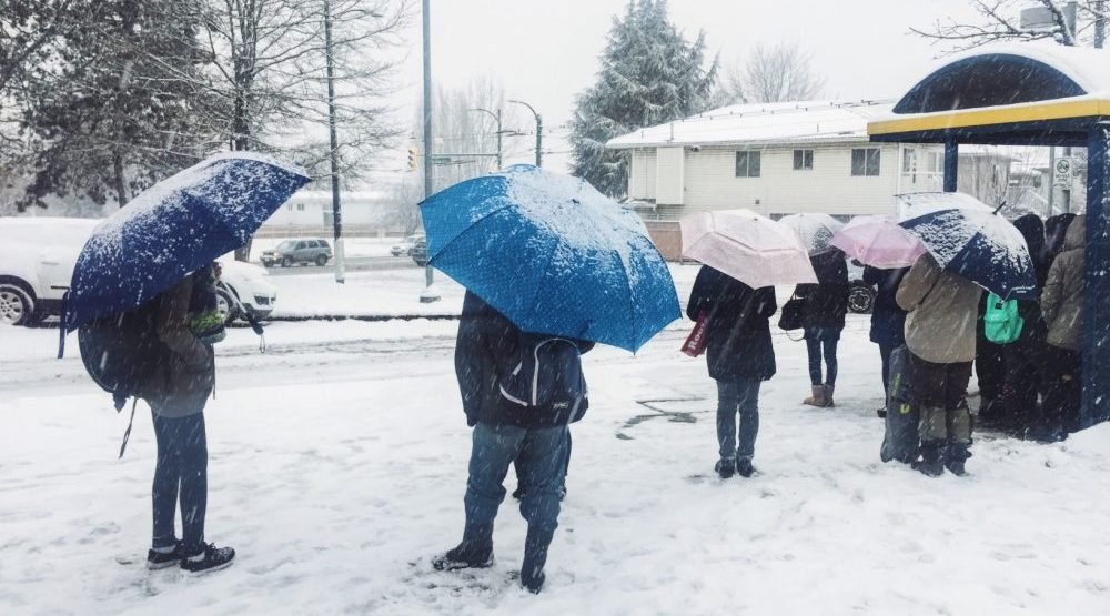 Opinion: Hey Vancouver, umbrellas aren't for snow
