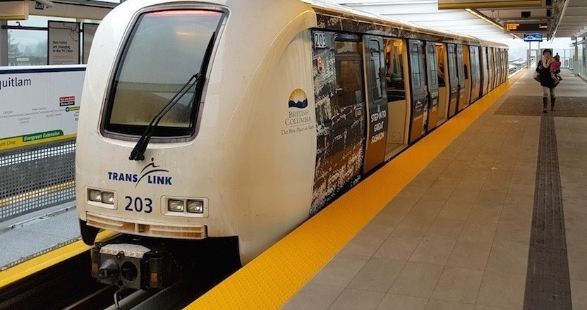 3 people caught riding SkyTrain outside of the train