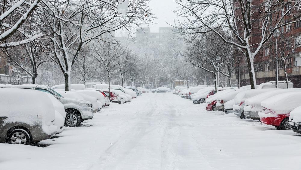 Snowfall december 2016 shutterstock