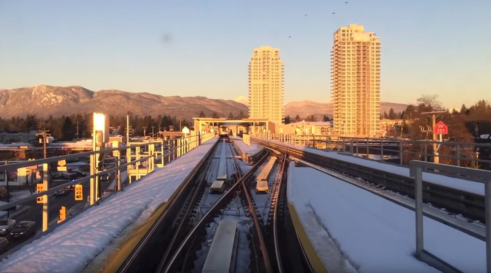 From end-to-end: Mountain views from the SkyTrain Evergreen Extension (VIDEO)