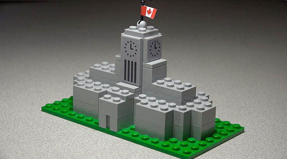 Lego vancouver city hall