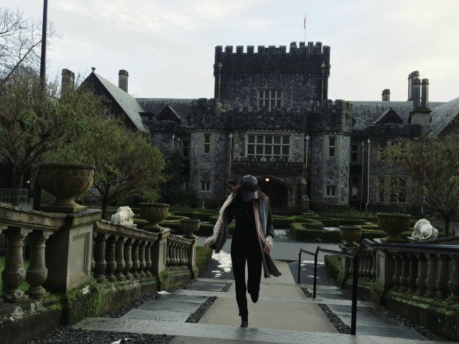 Hatley Castle at Royal Roads University (Brenna Temple/Daily Hive)