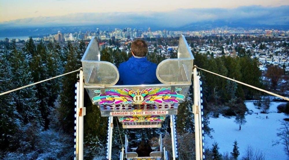 Queen elizabeth park ferris wheel