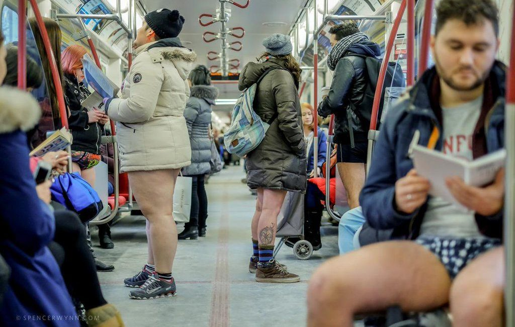 Toronto's No Pants Subway Ride returns this January