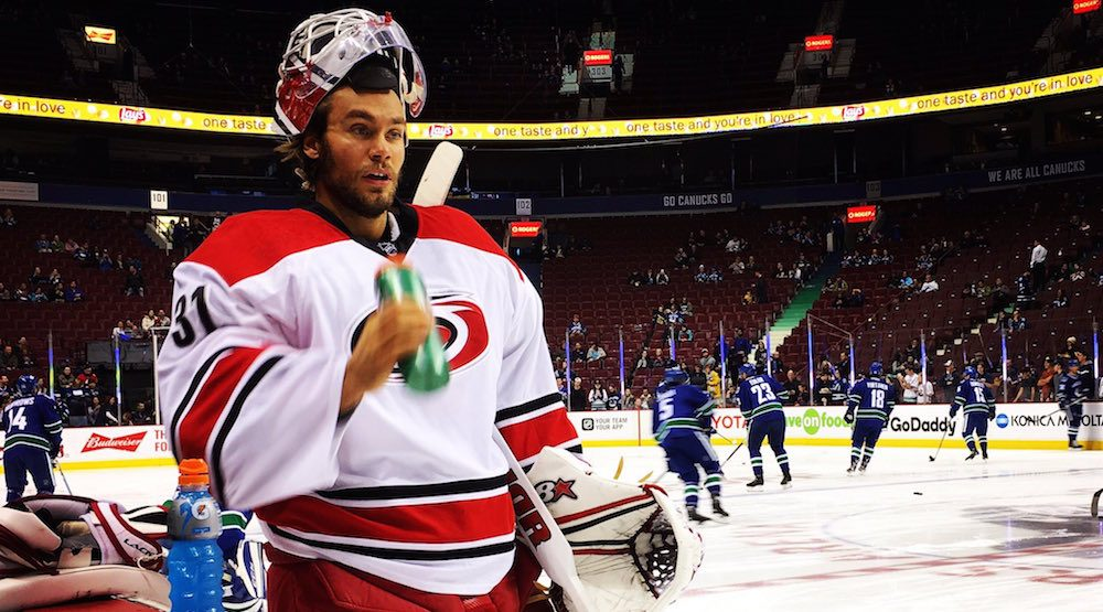 Flames acquire Eddie Lack in trade with Hurricanes