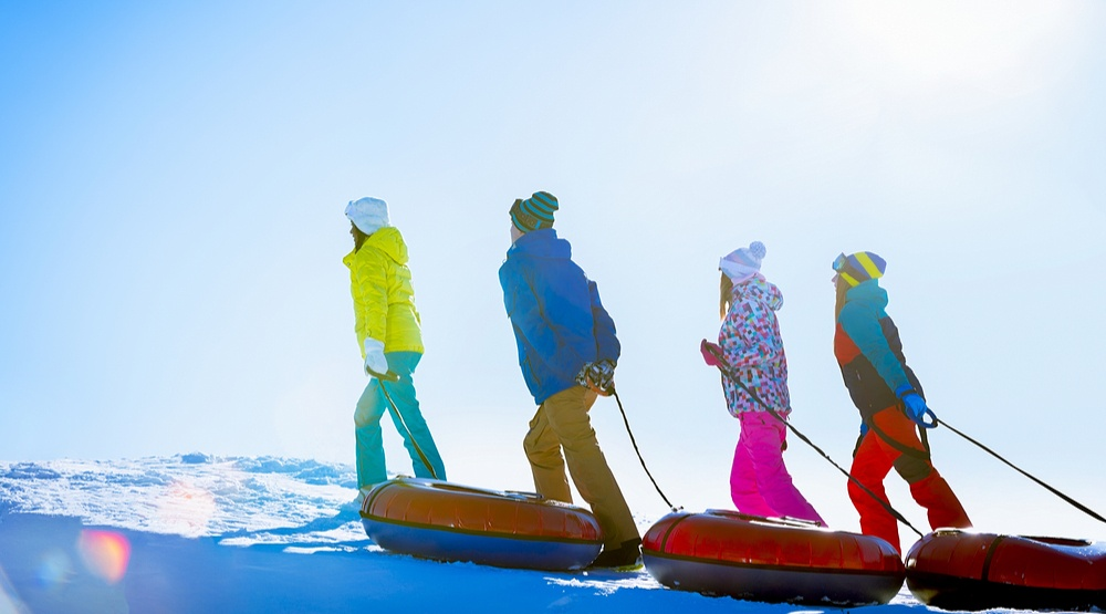 Best places to snow tube in and around Vancouver