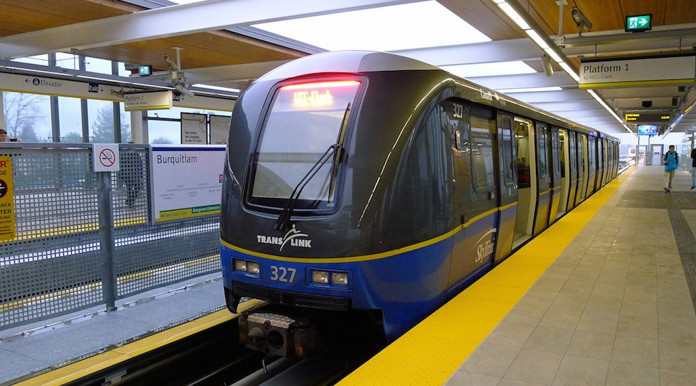 Burquitlam station evergreen skytrain