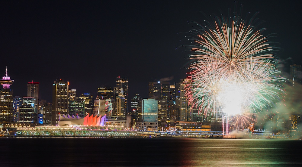 Here are 10 different Canada Day fireworks celebrations happening in Metro Vancouver
