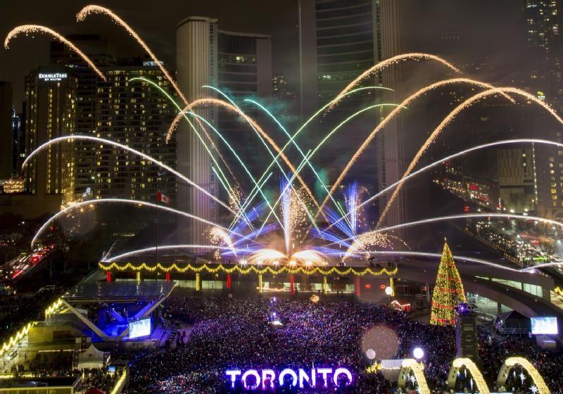 Walk Off The Earth will headline Toronto's New Year's Eve celebrations