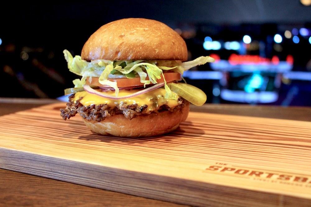 Sportsbar burger