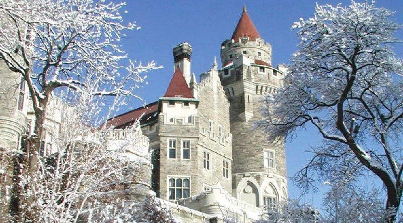Casa loma winter 2
