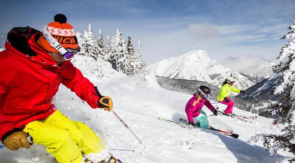 Skiing banff lake louise tourism fb
