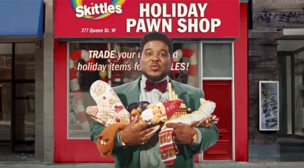 A Skittles Holiday Pawn Shop will pop up in Toronto on Boxing Day