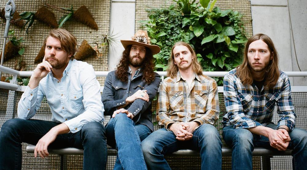 The Sheepdogs Vancouver 2016 concert at TRUE NORTH NYE Party