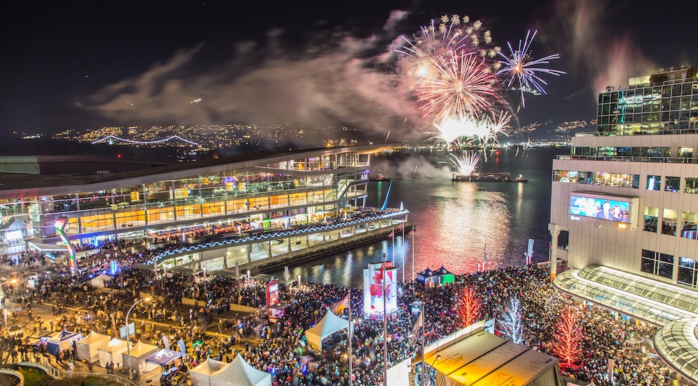Win a $500 Pacific Centre gift card from TRUE NORTH NYE Indoor Party