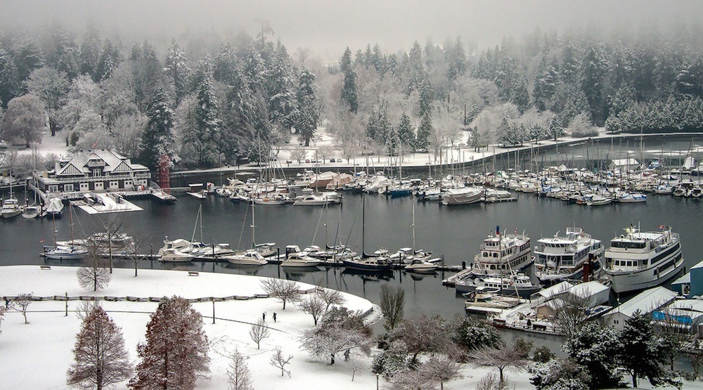 Snowfall warning in effect: Up to 18 cm expected for Metro Vancouver