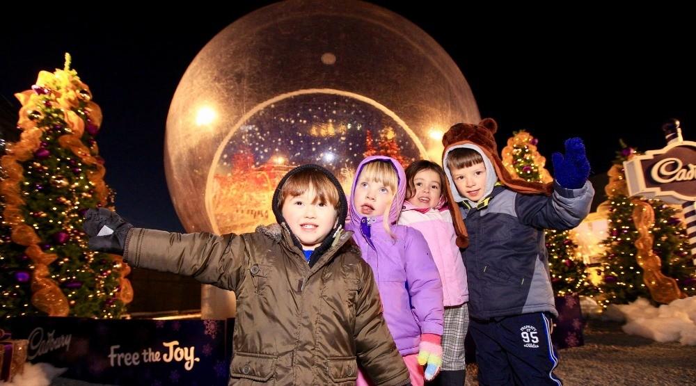 Life-size snow globe hits Enchant Christmas Light Maze (PHOTOS)