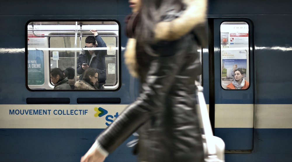 The Montreal metro will be open all night long on New Year's Eve