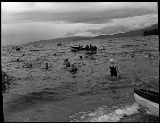 Polar bear swim 1957