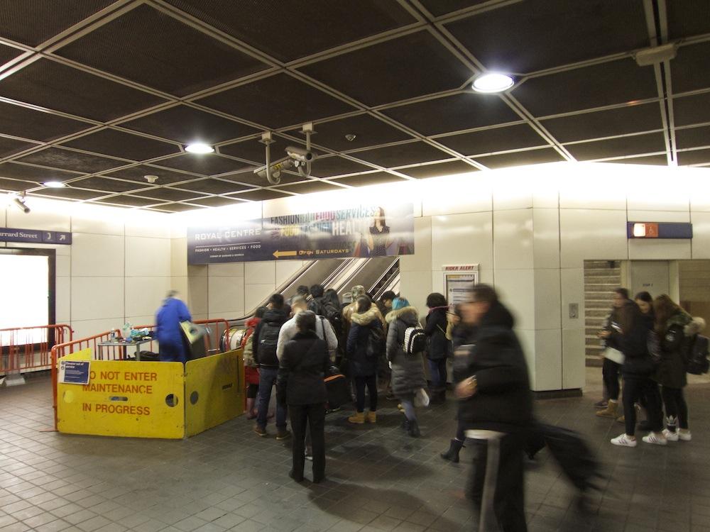 skytrain burrard station