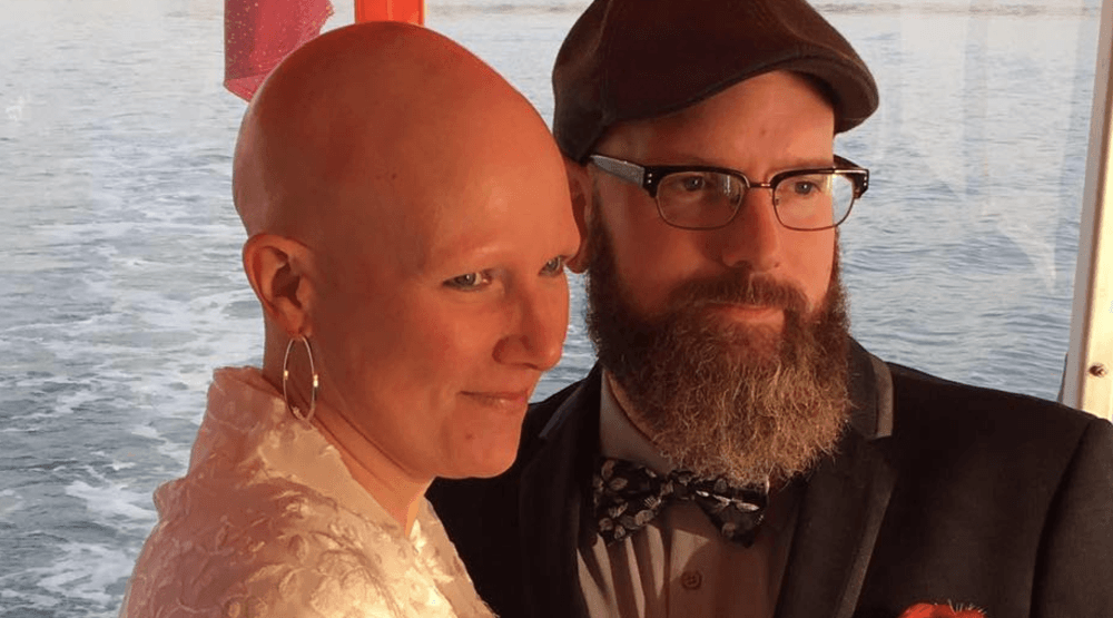 Truly heartwarming: Vancouver woman and partner with Stage 4 Cancer wed on Aquabus