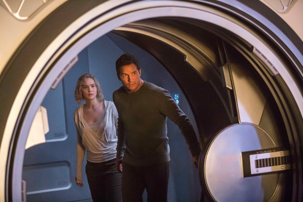 Movie Review - Passengers - Jennifer Lawrence, Chris Pratt, 2016