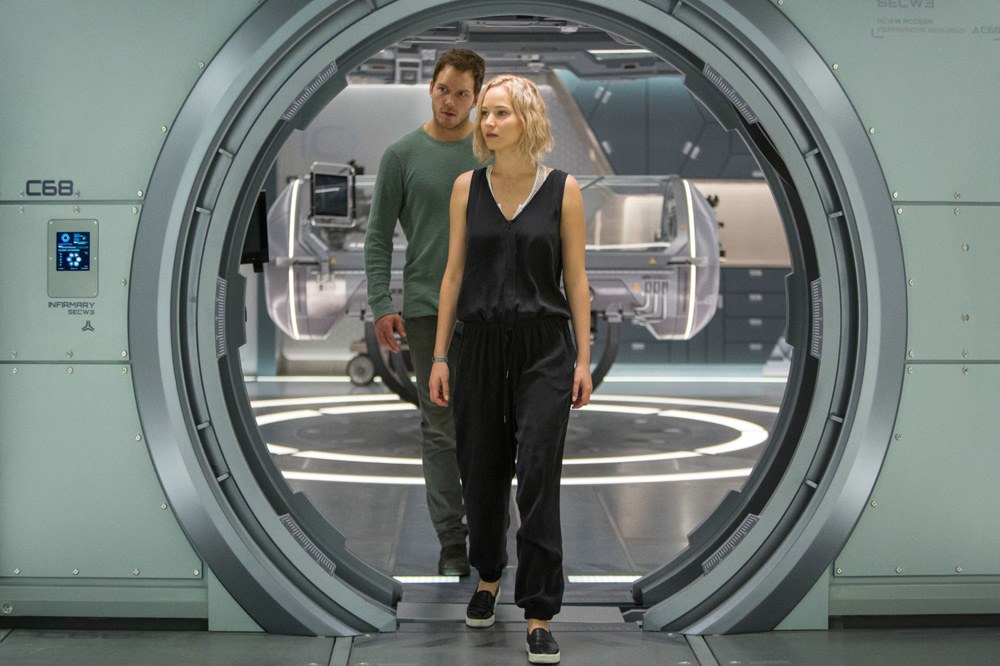 Passengers, movie review by Dan Nicholls for Daily Hive