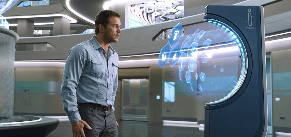 Chris Pratt is lost in space in Passengers