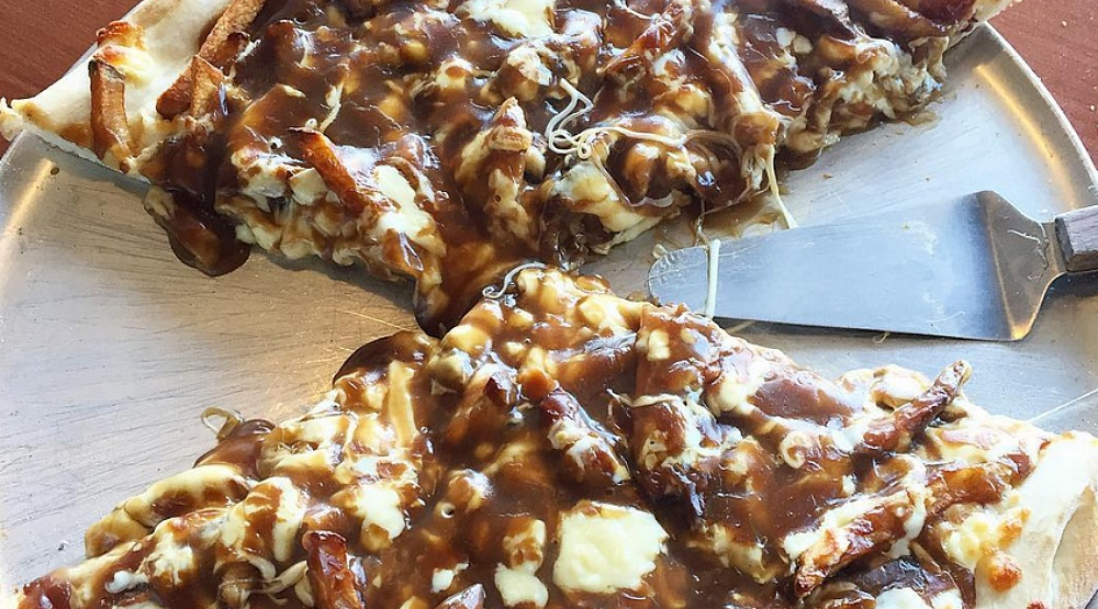 PSA: You can get poutine pizza in Montreal