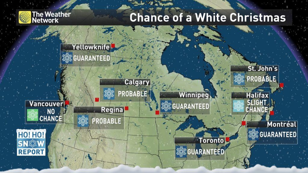 Christmas In Calgary Canada.Calgary Will Most Likely Have A White Christmas This Year News