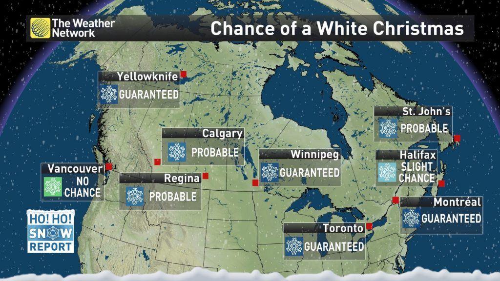 White Christmas Canada