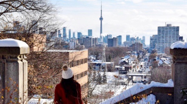 Toronto guaranteed to have a white Christmas this year