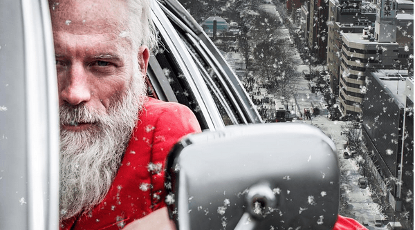 Last chance to sit on the REAL Fashion Santa's lap before Christmas