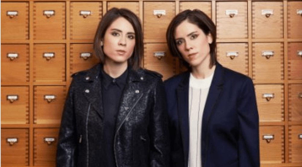 Tegan and Sara 2017 concert at the Southern Alberta Jubilee Auditorium