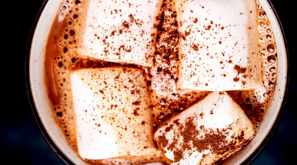 Hot chocolate cup marshmallows