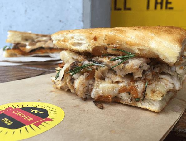 carver toronto chicken sandwich