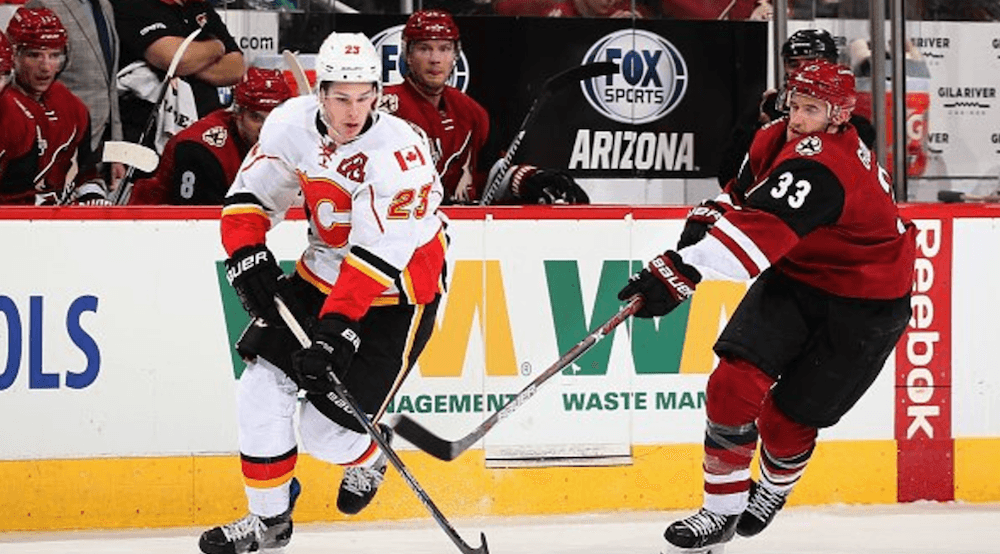 See the Calgary Flames face off against the Arizona Coyotes on NYE (CONTEST)