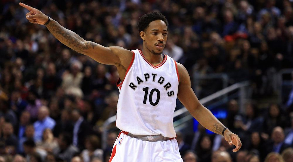Raptors' DeRozan voted starter to NBA All-Star Game
