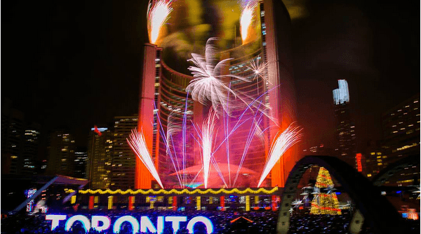 EVERYTHING happening at Nathan Phillips Square this New Year's Eve