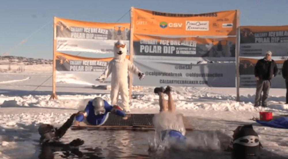 Calgary Ice Breaker Polar Dip is this weekend