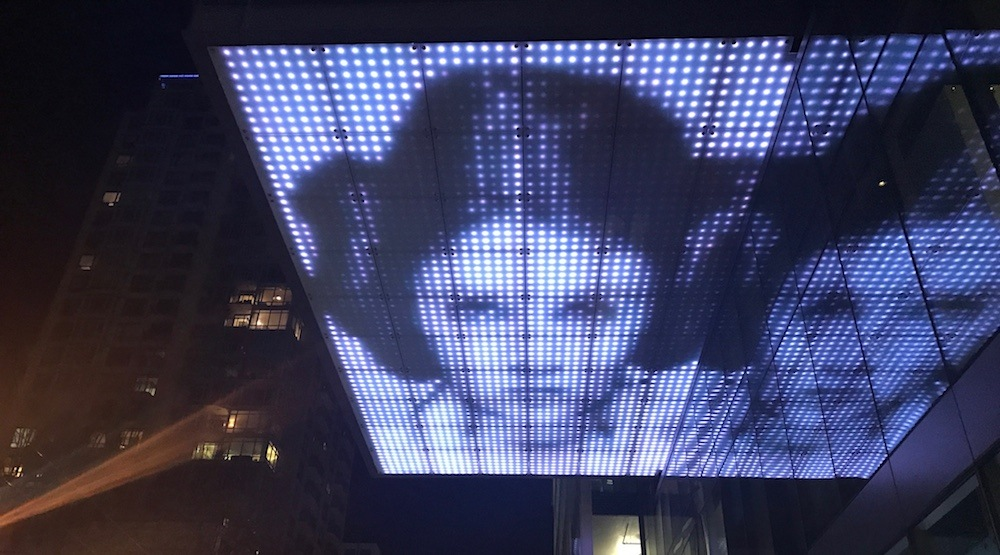 Carrie fisher star wars telus garden vancouver 1