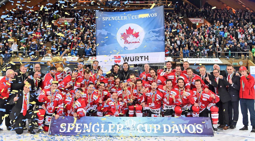 Canada defeats Lugano to win 2016 Spengler Cup