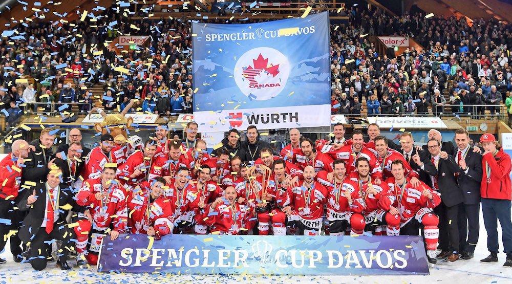 Canada spengler cup 2016