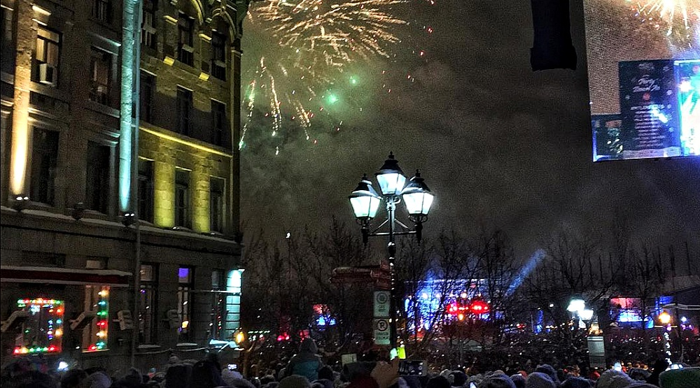 24 photos from New Year's Eve 2017 in Montreal