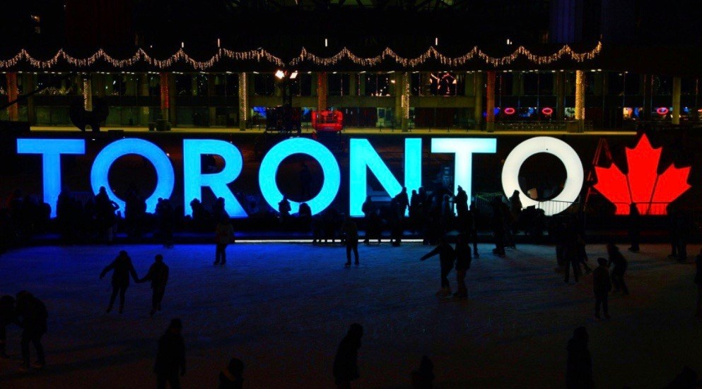 Iconic Toronto sign gets upgrade for Canada's 150th birthday
